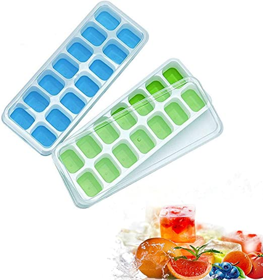 Moldes para cubitos de hielo, aranticy silicona para hacer cubitos ...