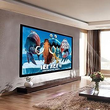 Amazon Safstar Aluminum HD Fixed Frame Projector Screen For