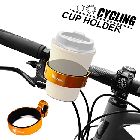 Cup Holder Handlebar Clamp Mount Coffee Travel Mug USA