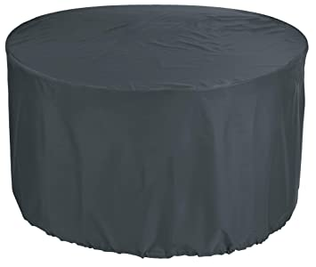 KaufPirat Housse de Protection pour Table Ronde Ø 180x90 cm ...