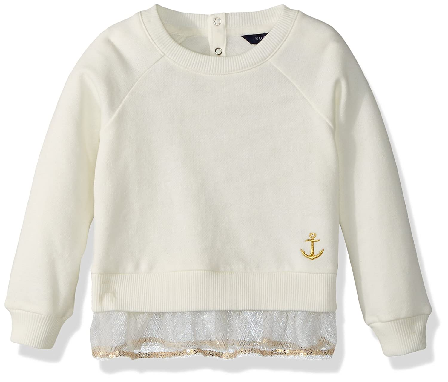 Nautica Girls Long Sleeve Fashion Sweaters