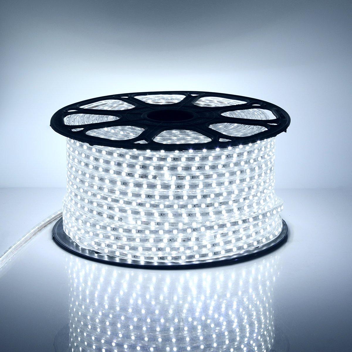 20M Kaltwei/ß GreenSun LED Lighting 5050 SMD LED Streifen Strip mit 23 Tasten Fernbedienung RF Controller Lichter 60 LEDs//M f/ür Zuhause Weihnachten Dekoratio