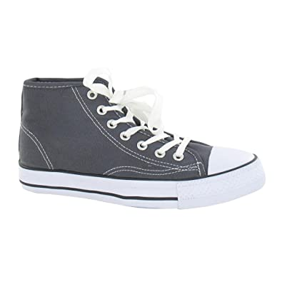 Spot On Womens Ladies Canvas Baseball Boots  Amazon.co.uk  Shoes   Bags 0a79bd611