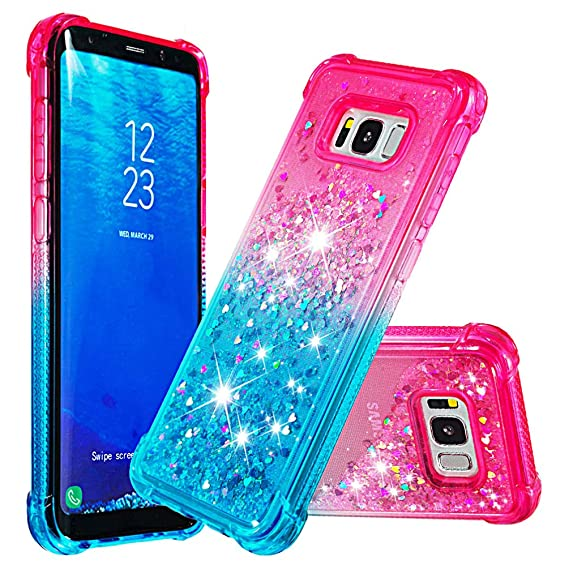 53002b65ee43 Amazon.com  Galaxy S8 Plus Case