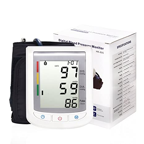 LinkHealth Automático Tensiometro Electrónica de brazo