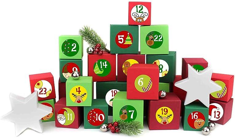 Papier Dragon 24 calendrier de l/'avent chiffres autocollants-Design NR 52