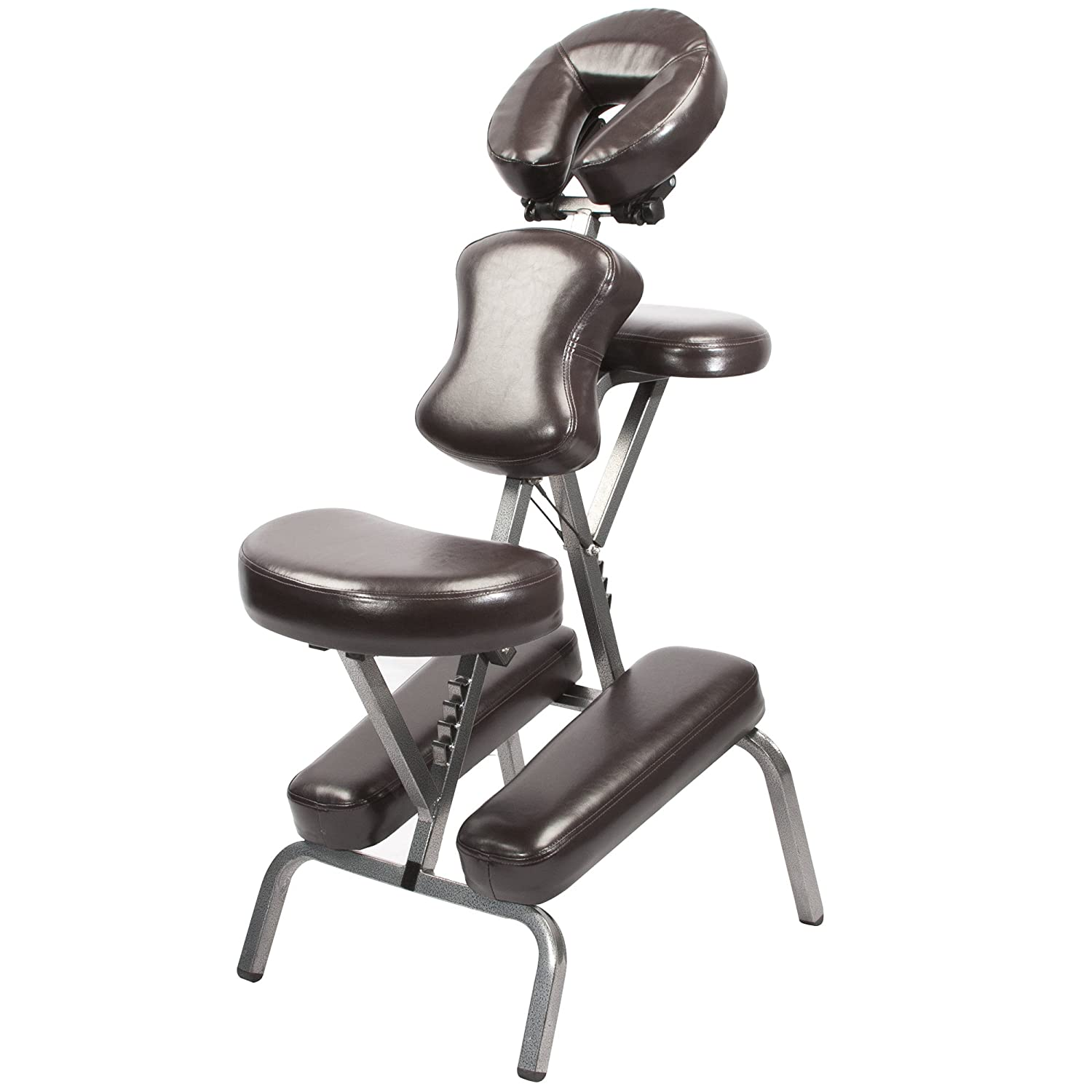 Master Massage Light Weight Cabo Portable Massage Chair Package, Stratford Maroon Master Massage Tables