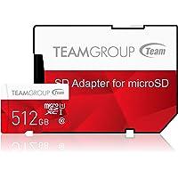 Team Group Color 512GB UHS-I Class 10 MicroSDXC Flash Card (TCUSDX512GUHS54)