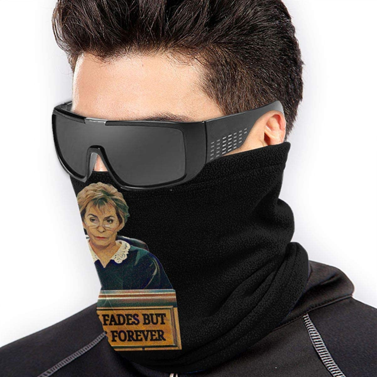 NA Judge Judy Fashion Warm Ski Microfiber Neck Warmer