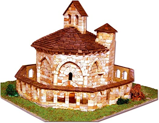 Aedes 1106. Kit de construccion en piedra. Iglesia de Santa Maria de Eunate (Navarra): Amazon.es: Juguetes y juegos