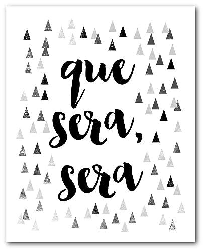 Amazon.com: Que Sera Sera (Whatever Will Be Will Be) Print ...