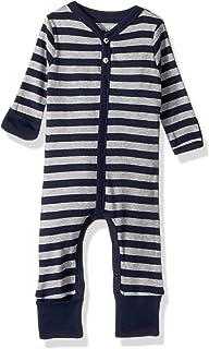 4345fad0d Burt's Bees Baby Baby Boys' Romper Jumpsuit, 100% Organic Cotton One-Piece