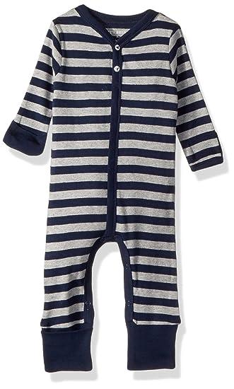 06af6344d63 Amazon.com: Burt's Bees Baby Baby Boys' Romper Jumpsuit, 100 ...