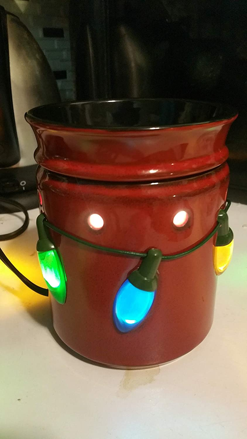 Amazon.com: Scentsy Warmer, Holiday Lights, Winter Christmas Full-size Premium: Home & Kitchen