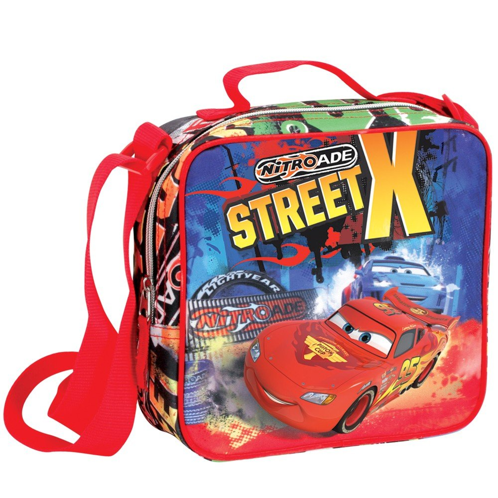 Disney Cars Insulated Cooler Lunch Bag Perona 50484 Movie & TV