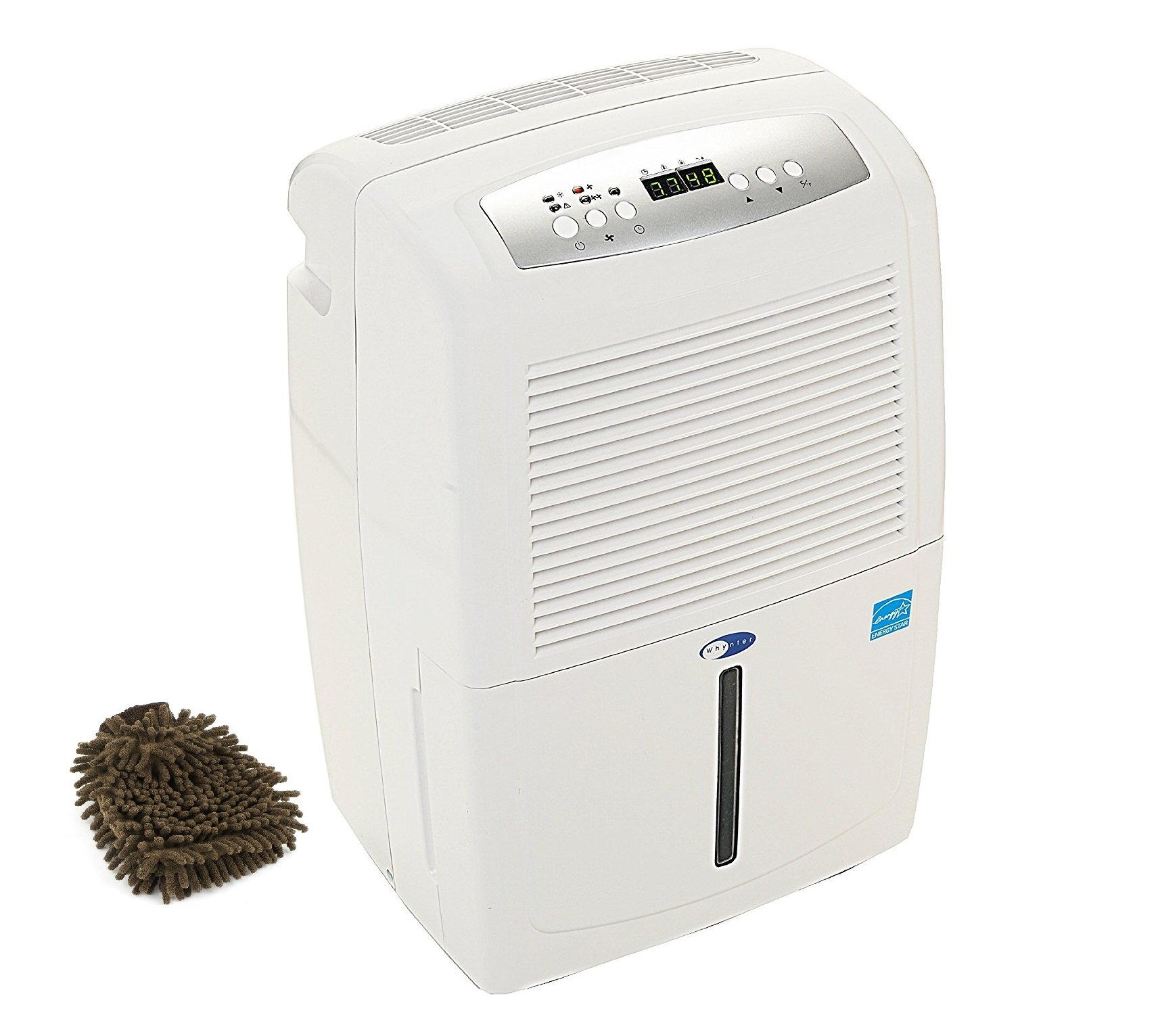 RPD-702WP Whynter Dehumidifier, Portable, Energy Star, 70-pint with Pump (Complete Set) w/ Bonus: Premium Microfiber Cleaner Bundle