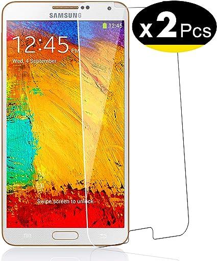 NEWC 2 Unidades, Protector de Pantalla para Samsung Galaxy Note 3 ...
