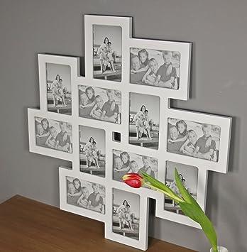 Collage De Fotos Para Pared. Pared Con Collage De Marcos De Fotos ...