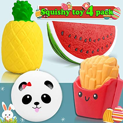 Mobile Phone Accessories Mobile Phone Straps Popular Brand Novelty Slow Rising French Fries Soft Ice Cream Coffee Cup Scented Banana Kawaii Bread Stretch Donut Milk Box Kid Toy