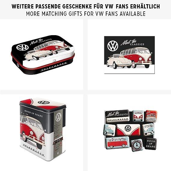 Enseigne Plaque en Métal 15x20cm Nostalgic-Art VW Classics