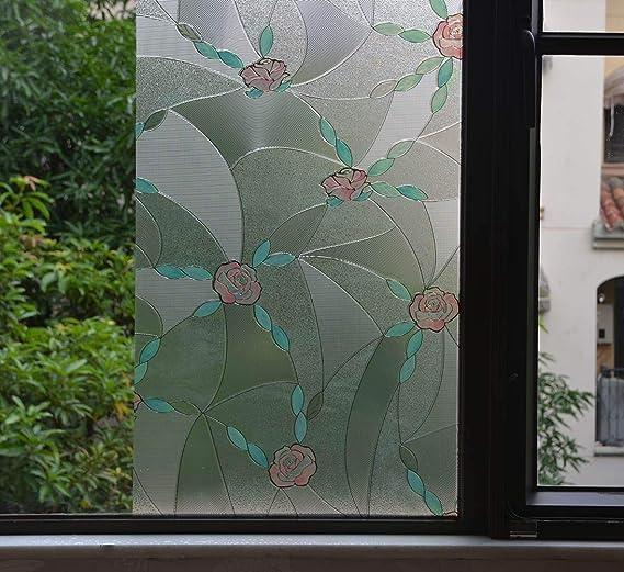 WHITE FROST COBWEB DECORATIVE WINDOW TINTING FILM VINYL