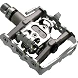 Trekking Clipless//Platform Pedals SPD Style Sealed Bearings W// Cleats XLC New