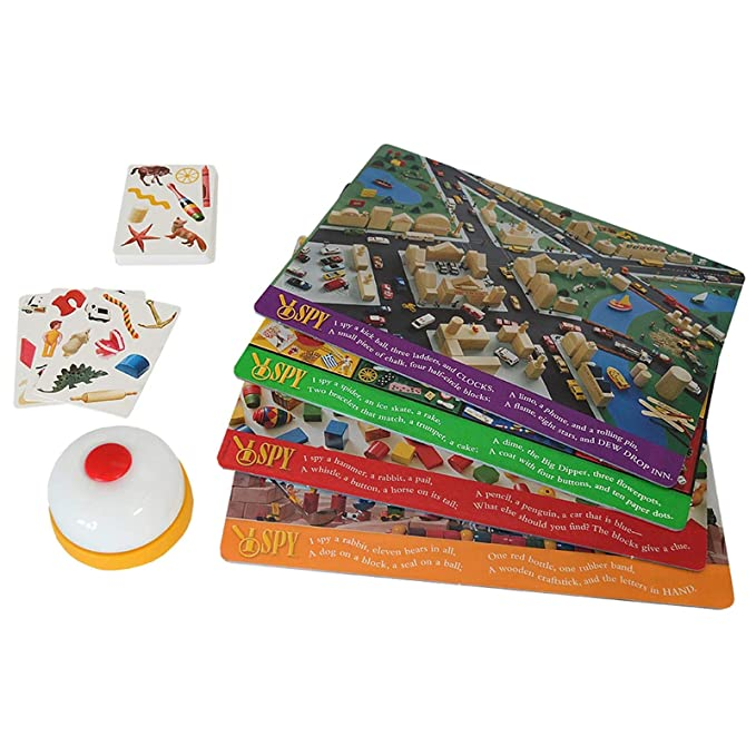 Amazon.com: Juego de mesa I SPY Eagle Eye Game: Game: Toys ...
