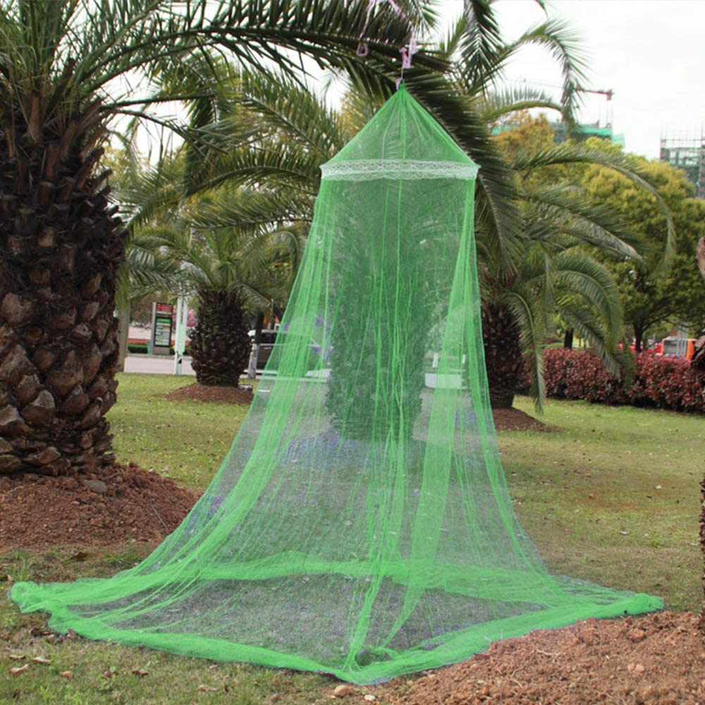PetHot Mosquito Net Single Entry for Bed Canopy Bites Protect For Single Double King Size Bed Pink
