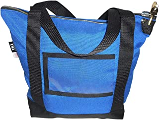 product image for Deposit Bag,Bank Bag,documents or Courier with Pop Lock &2 Keys, Made in USA (Blue)