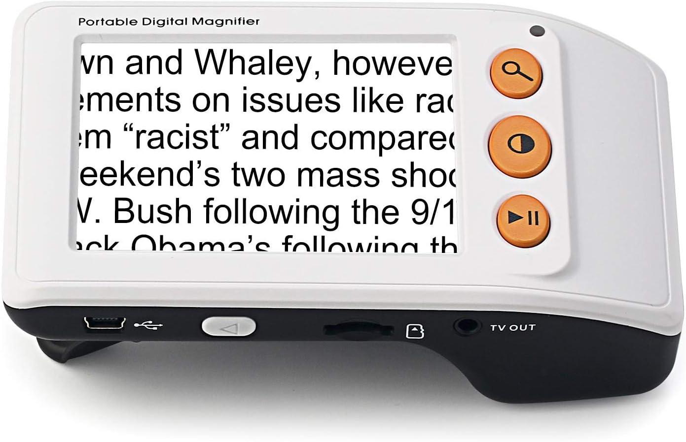 Lupa móvil Digital con Pantalla LCD de 3.5 Pulgadas: Proporciona una ampliación de Texto de 25X para una Lectura más fácil por Home Care Wholesale: Amazon.es: Electrónica