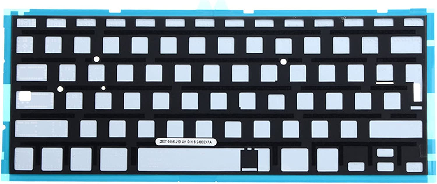Ittecc Spanish ESPA/ÑOL SP Teclado Keyboard with Backlit Replacment Fit for MacBook Air 13 A1369 2011 A1466 2012 2013 2014 MD508LL//A MC965LL//A MD231LL//A MD760LL//A MD760LL//B Keyboard with Screws