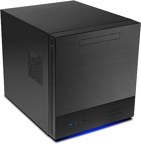 Antec ISK600M Cubo Negro - Caja de Ordenador (Cubo, PC, De plástico, Acero, Negro, Micro ATX,Mini-ITX, RoSH): Amazon.es: Informática