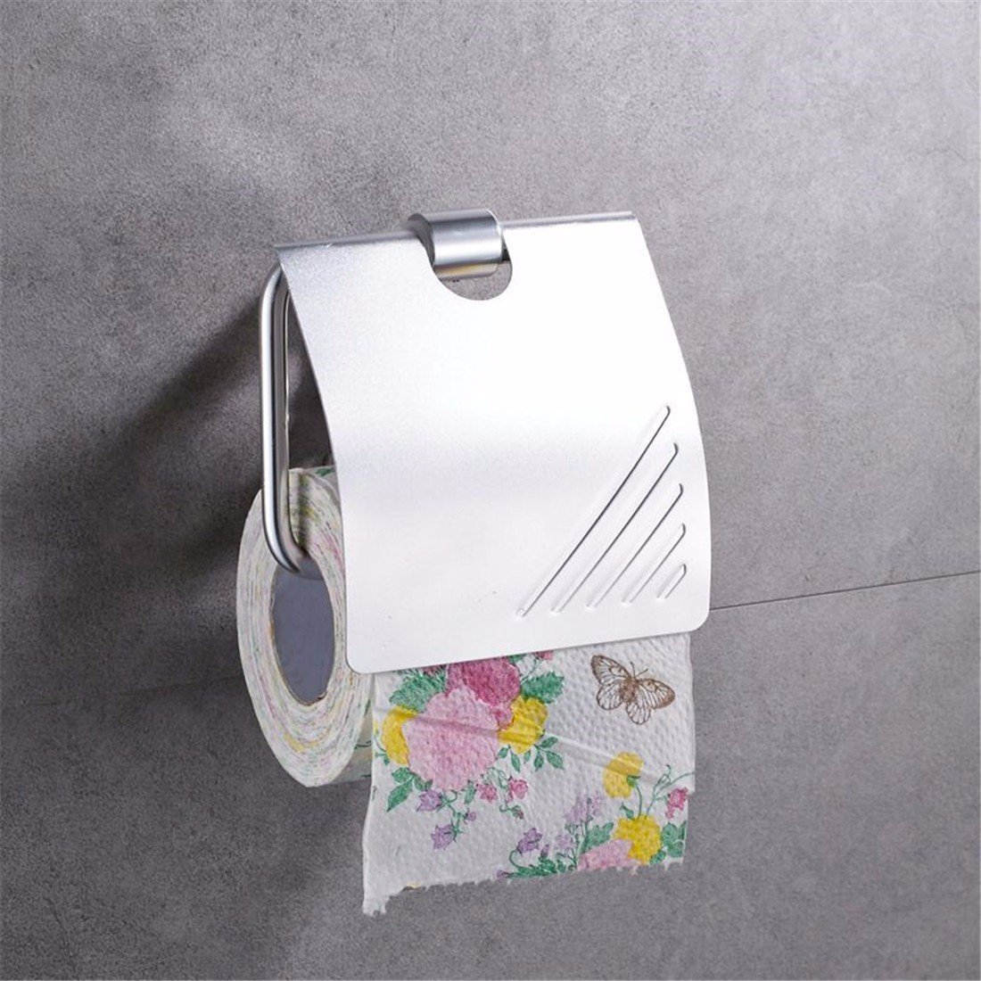 FACAIG The aluminum works light toilet paper holder bathroom accessories set
