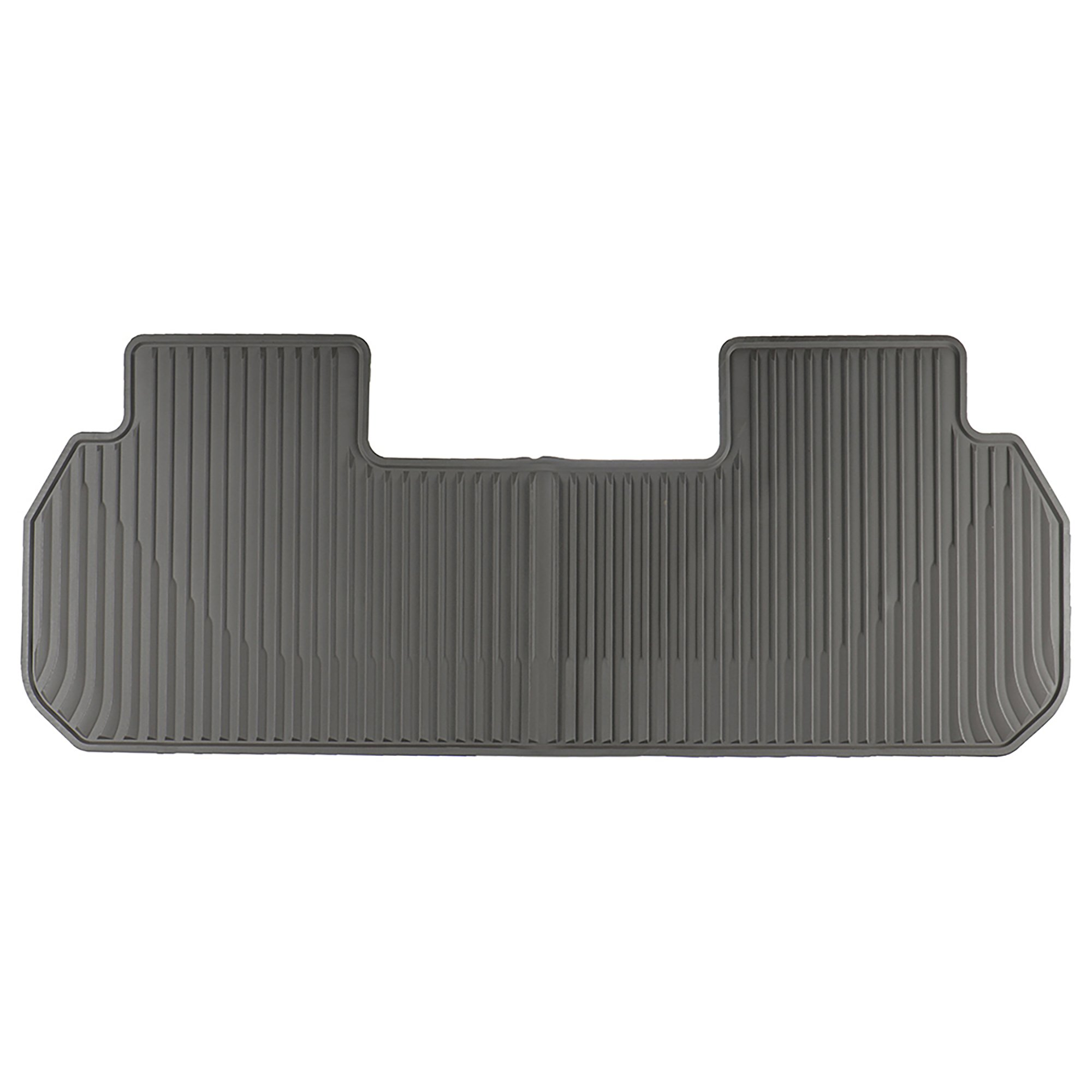 OEM New Second Row All Weather Rubber Floor Mat Gray 2018 Traverse 84162519