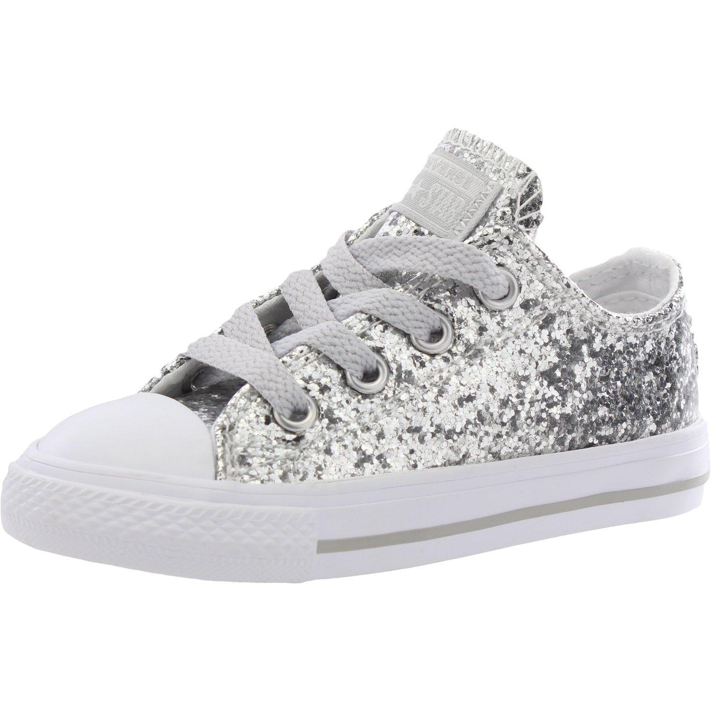Converse Chuck Taylor All Star Core Ox, Zapatillas Unisex 33.5 EU|Pure Silver Pure Silver
