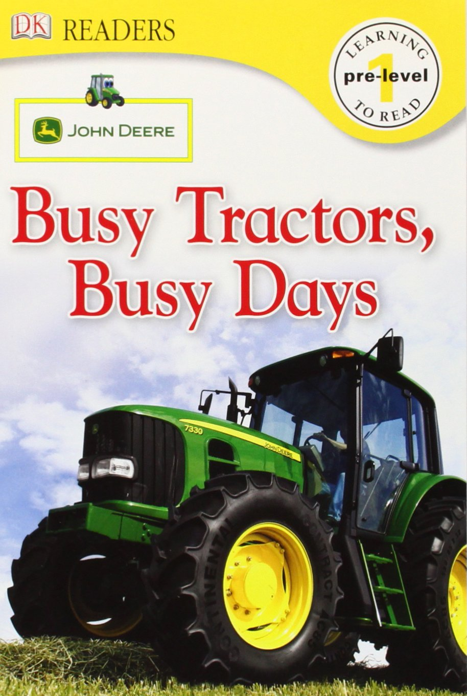 Download DK Readers L0: John Deere: Busy Tractors, Busy Days pdf