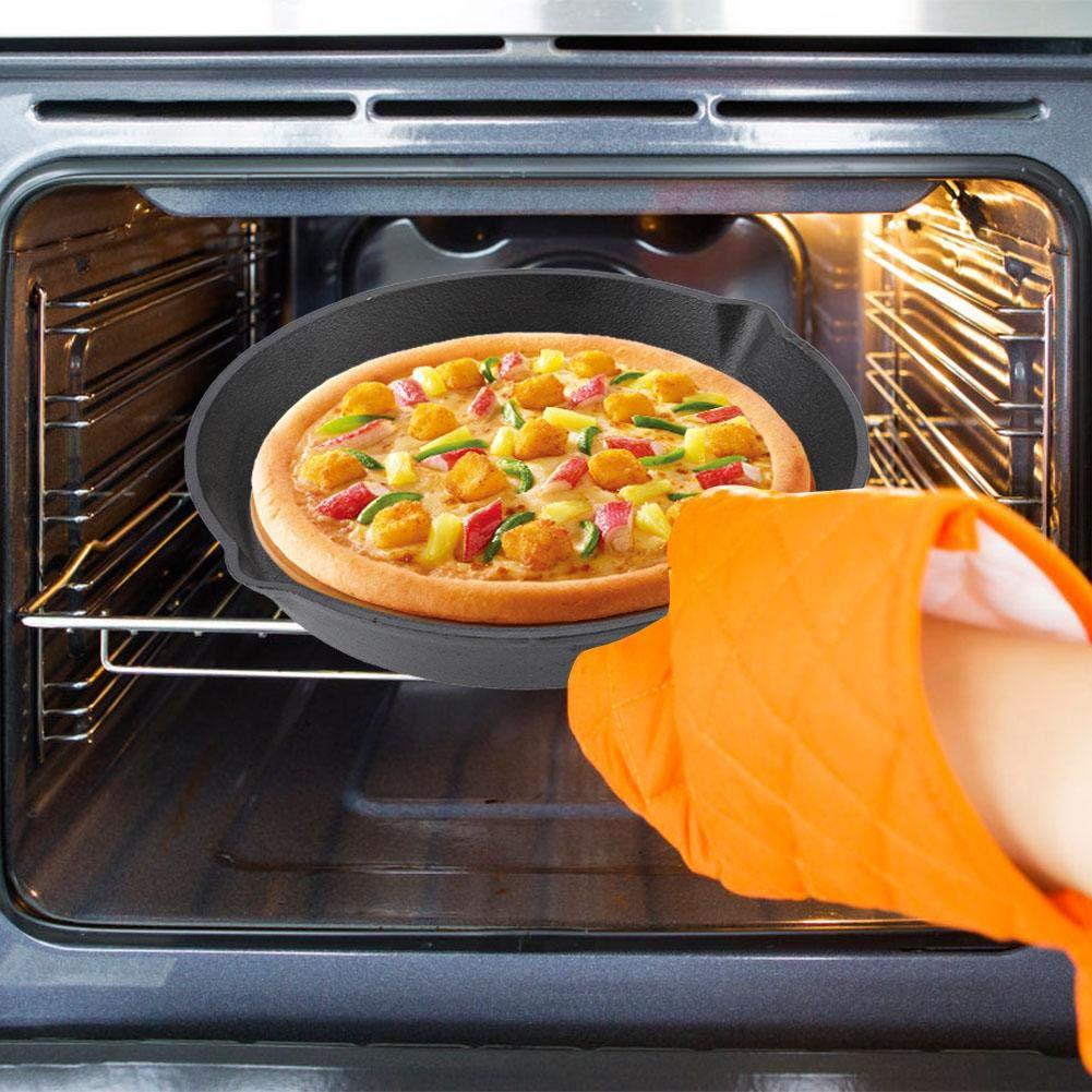 Fry Pan/Frying pan Cookware Set, 3pcs/Set 16cm 20cm 25cm Cast Iron Frying Pans Cookware Pots Household Kitchen Cooking Tool by Yosooo (Image #7)
