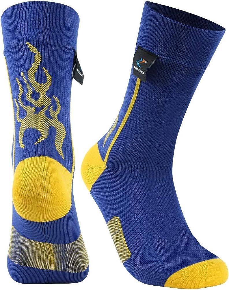 RANDY SUN Unisex Sport Climbing Skiing Trekking Hiking Socks SGS Certified 100/% Waterproof Breathable Socks,