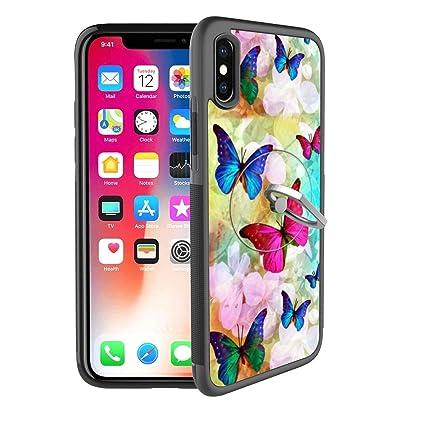 Amazon.com: Funda para iPhone X iPhone 10 con soporte para ...