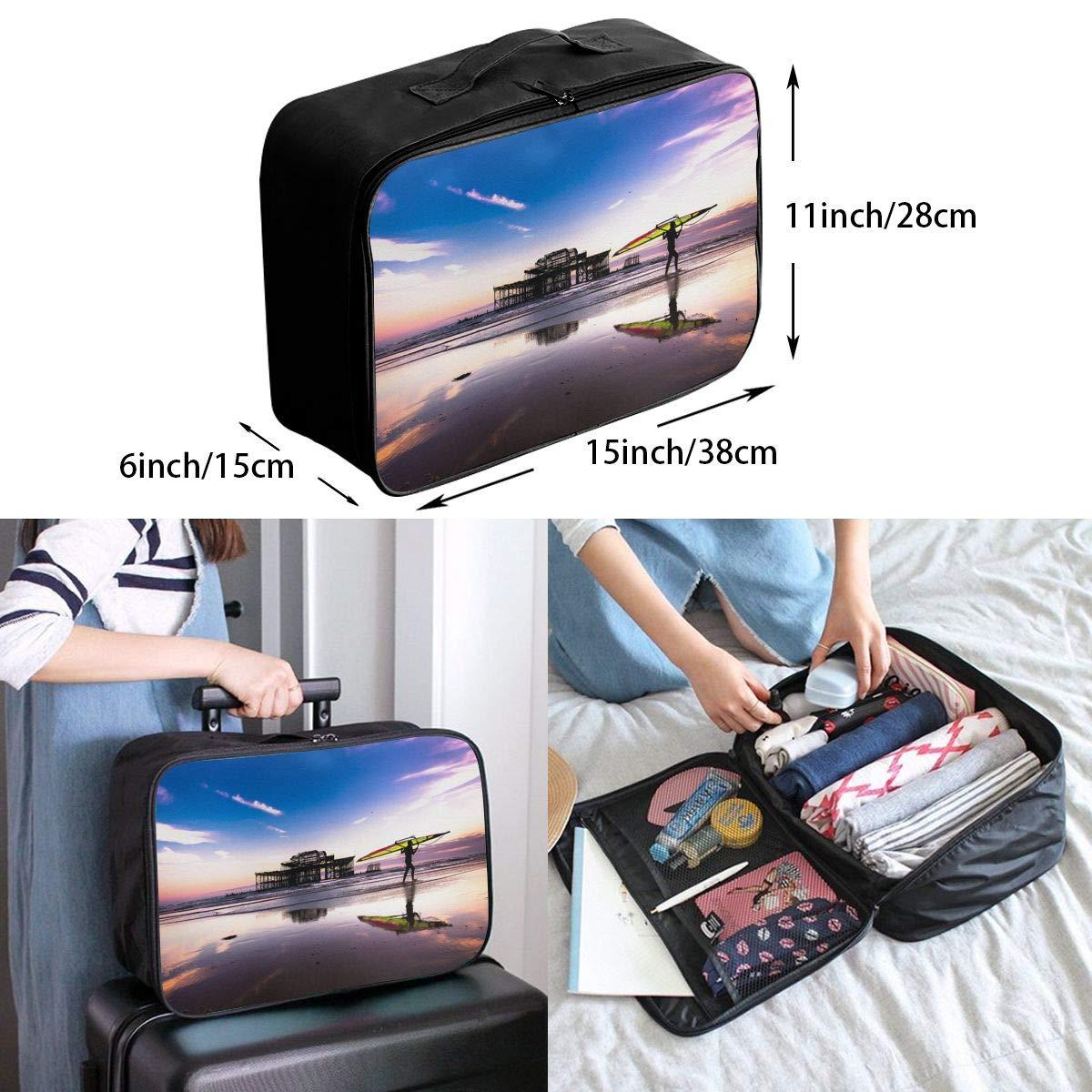 Travel Luggage Duffle Bag Lightweight Portable Handbag Surfing Large Capacity Waterproof Foldable Storage Tote