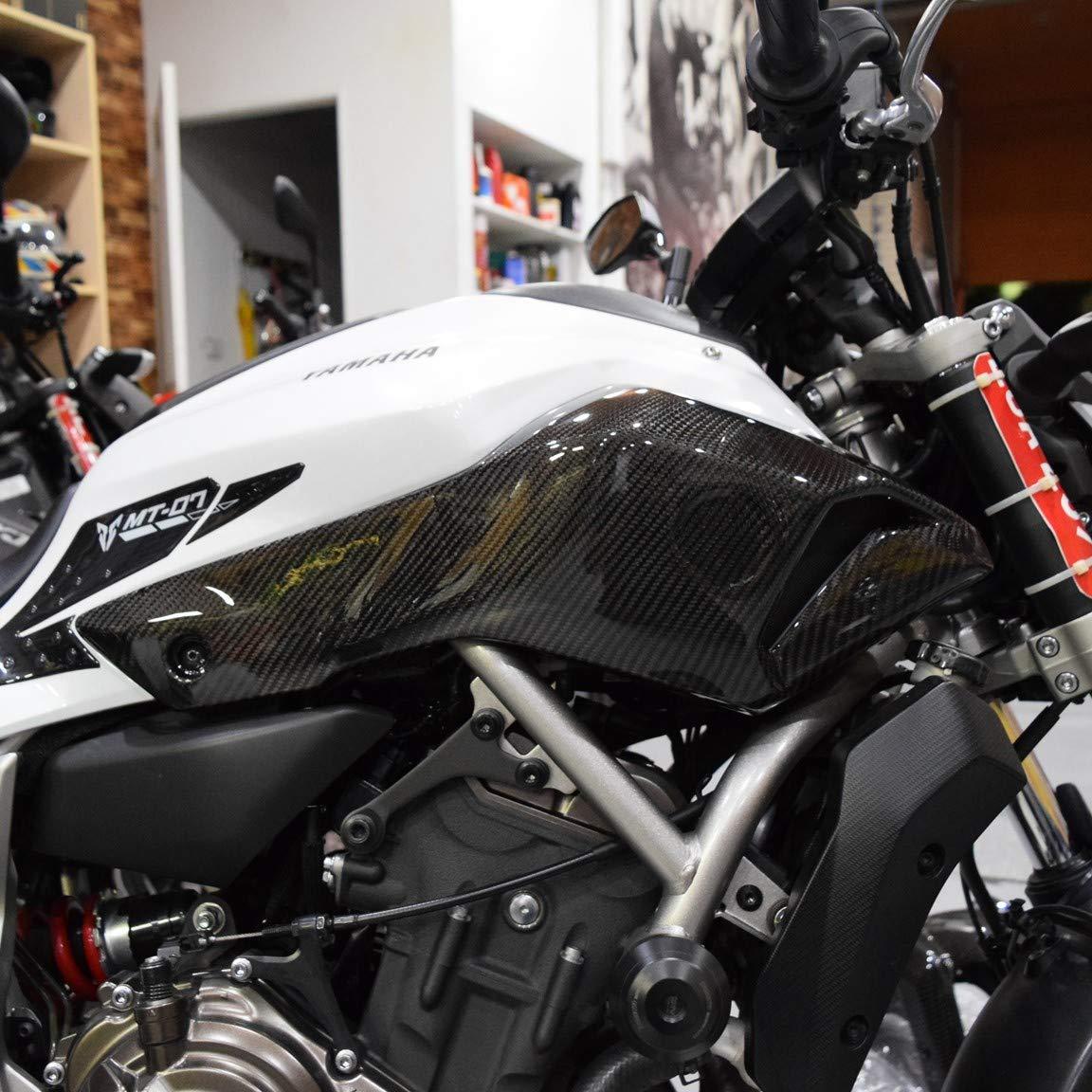 Yamaha FZ-07 Carbon Fiber Air Duct Covers 2013-2017
