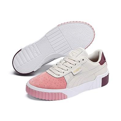 moins cher de9ad ed0de Puma Cali Remix WNS Damen Low Boot Sneaker Pastel Parchment ...