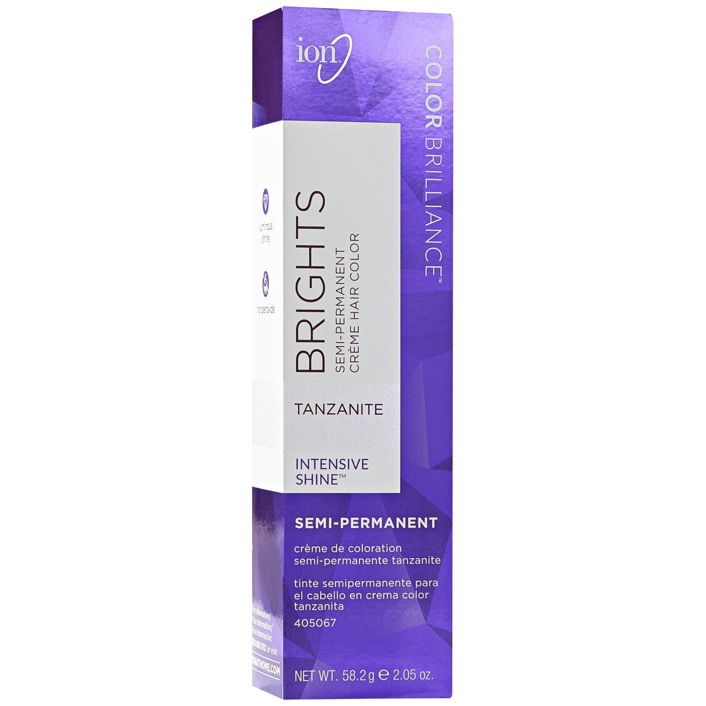 Amazon.com : Ion Sapphire Semi Permanent Hair Color Sapphire : Beauty