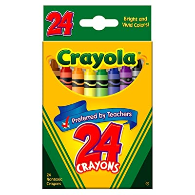 Crayola 24 Ct Crayons - 3 Boxes: Toys & Games