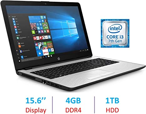 Hp Premium 15 6 Inch Hd Wled Backlit Display Laptop Pc Intel Dual Core I3 7100u 2 4ghz Processor 4gb Ddr4 Sdram 1tb Hdd Bluetooth Hdmi Webcam 802 11ac Wifi Windows 10 Natural Silver Amazon Co Uk Computers Accessories