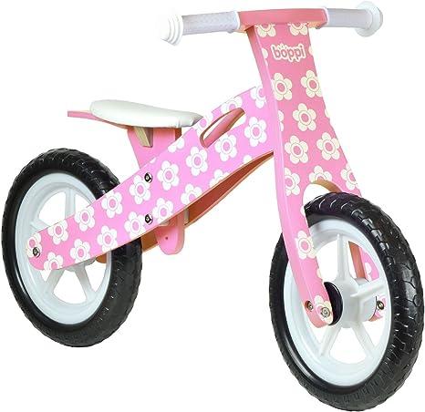 boppi® Bici sin Pedales de Madera para niños de 3-5 años - Rosa ...