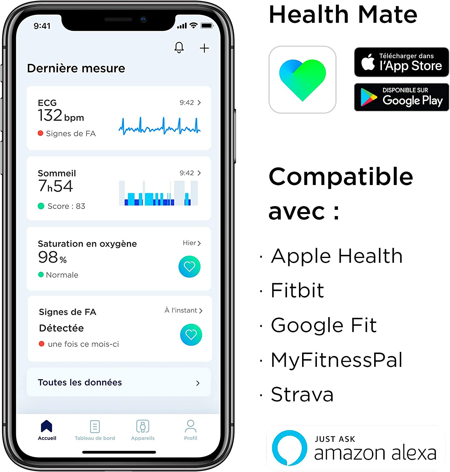 Withings Scanwatch - Health Mate