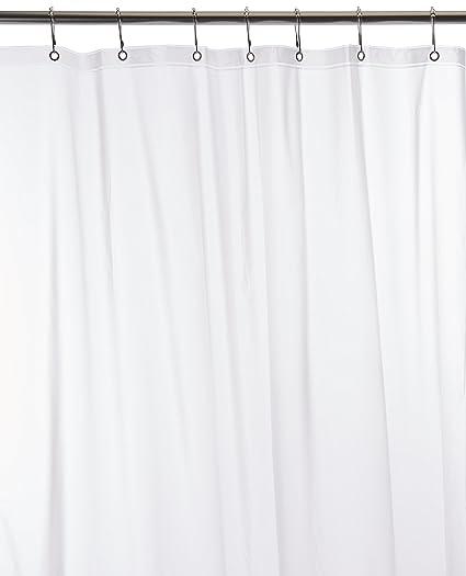 Amazon Ex Cell Medium Weight PEVA Shower Curtain Liner Frosty