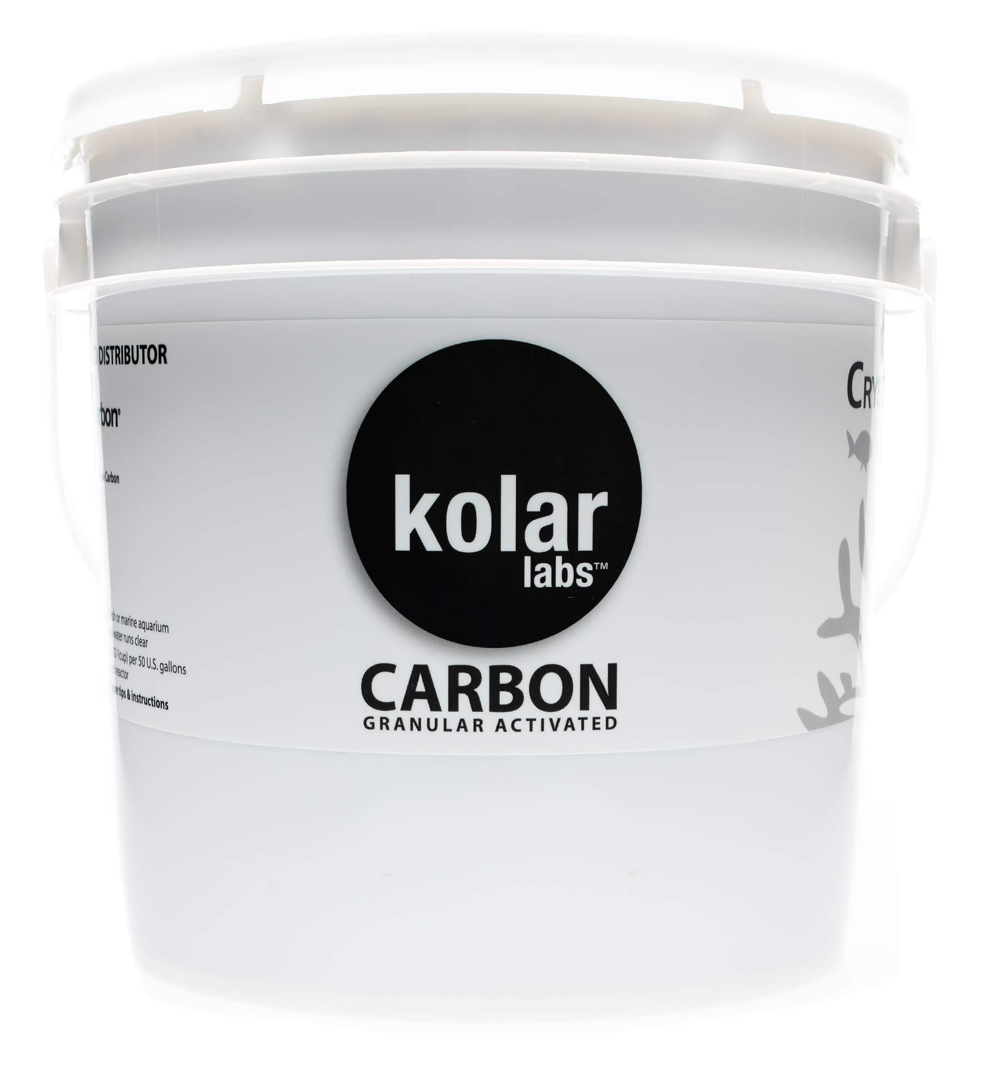 CRYSTAL CAL Aquarium Carbon, GAC 1.3 kilo(3lbs), reef grade, CALGON CARBON by Kolar Labs