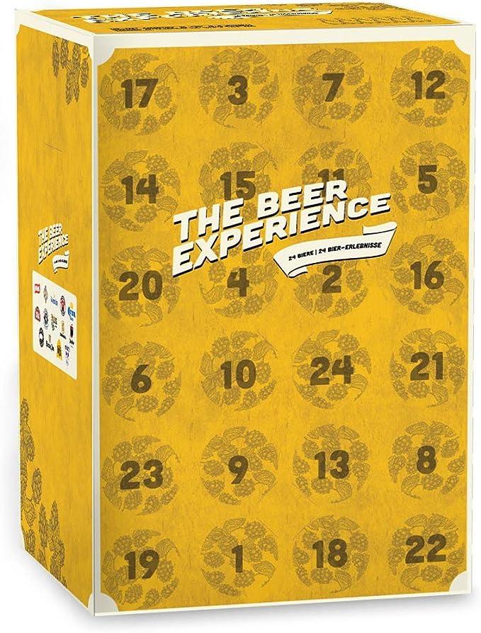 Beery Christmas - El calendario de Adviento compuesto de 24 cervezas artesanales - Idea de regalo diseñada y creada por HOPT: Amazon.es: Alimentación y bebidas